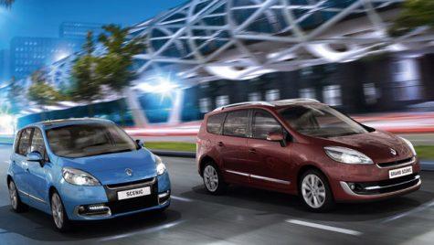 Gama Renault Scenic se înnoiește pentru anul 2012
