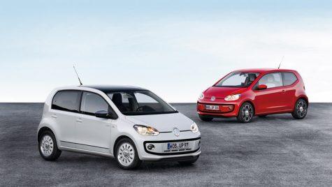 Micuța mașină de familie: VW up! cu patru portiere