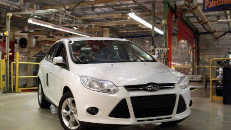 A demarat producția celui mai eficient Ford Focus pe benzină