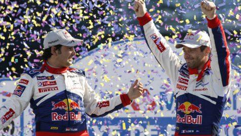 Loeb, Elena și Citroën – tripleta Campionilor Mondiali