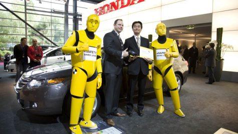 Premiul Euro NCAP Advanced pentru Honda