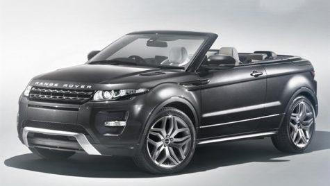 Range Rover Evoque convertible – concept, pentru moment