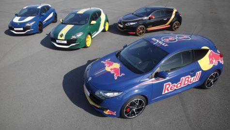 Patru echipe F1 cu motoare Renault, tot atâtea versiuni speciale Megane RS