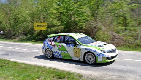 Ultimul raliu de asfalt din CNR Dunlop 2012