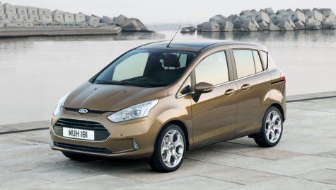 Noul Ford B-MAX se produce de azi la Craiova