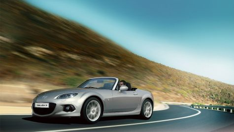 Mazda operează un facelift pentru MX-5