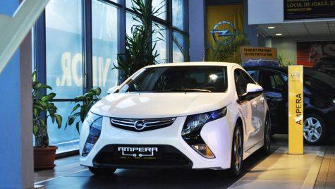 Opel Ampera a sosit oficial în România
