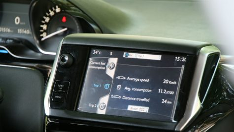 Peugeot 208 premiat pentru interfața touch screen
