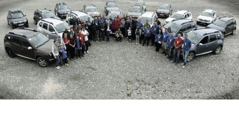 Prima ediție Dacia Duster Camp
