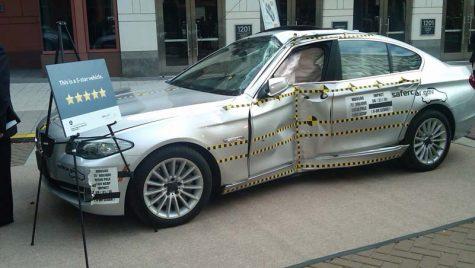 BMW Seria 5 – cinci stele la noile teste de impact din USA