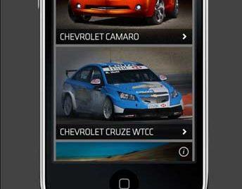 Aplicație iPhone cu aromă de Corvette