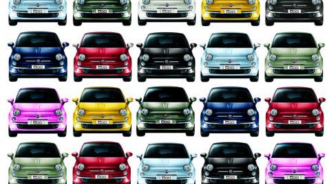 1.000.000 de unități Fiat 500