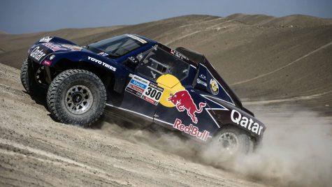 Una calda, una rece pentru Qatar Red Bull Rally Team