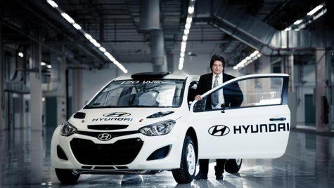 Hyundai accelereaza pregatirile pentru Campionatul Mondial de Raliuri (WRC)