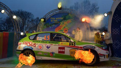 Bilanț pozitiv în Letonia pentru Napoca Rally Academy