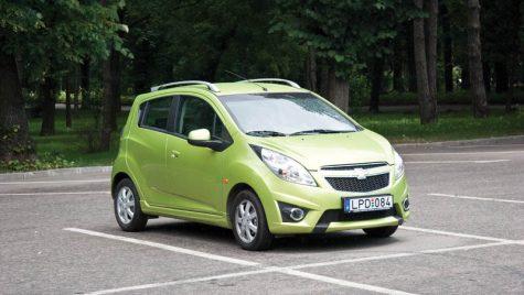 Sumar de siguranță: Chevrolet Spark