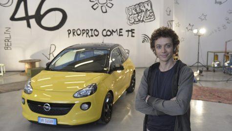 Valentino Rossi este imaginea Opel ADAM în Italia