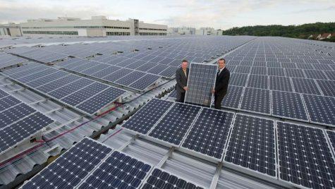 Energie solara de pe acoperisul fabricii AUDI AG