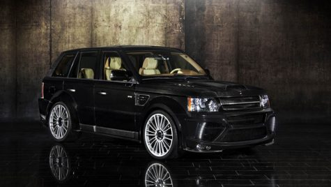 Omagiu Range Rover marca Mansory