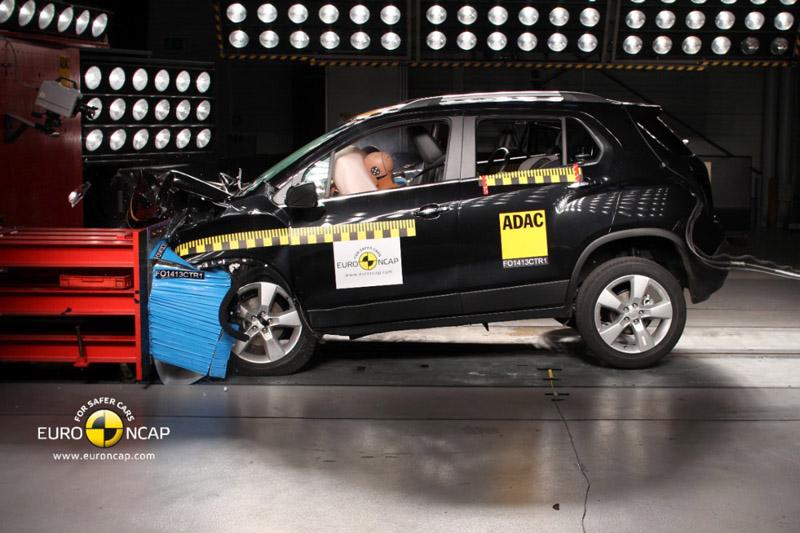 Chevrolet Trax, punctajul maxim de cinci stele în testele EuroNCAP