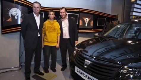Dacia Sandero serie limitată Orange