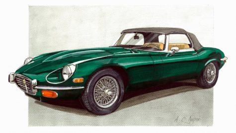 Galerie foto: Când automobilul se transformă în artă. La propriu!