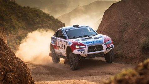 Coridă cu rally rideri – echipajul din România încheie Baja Spain pe locul 9