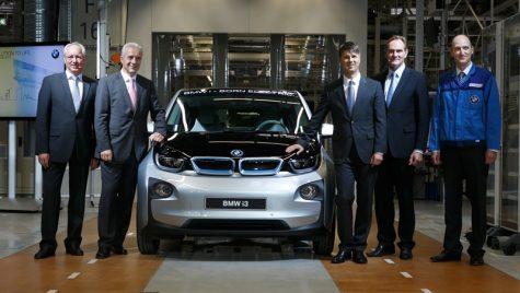 Început oficial de producție pentru BMW i3