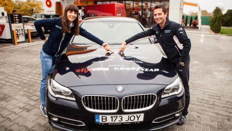 Noul BMW Seria 5 debutează cu un test inedit de consum: 4 l/100 km pe o rută de 1.550 km