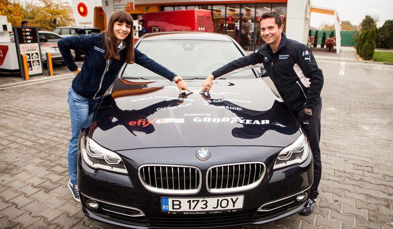 Noul BMW Seria 5 debutează cu un test inedit de consum