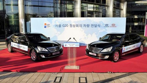 Hyundai motorizează Summitul G20