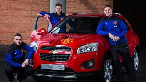 Manchester United şi Chevrolet licitează un model Trax
