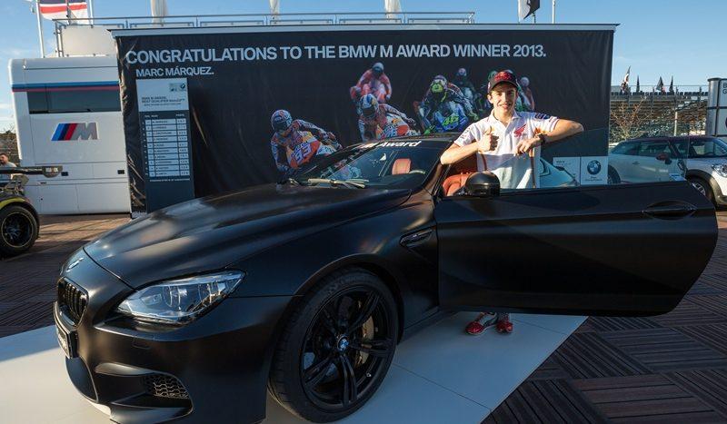 Marc Marquez a câştigat un BMW M6 Coupé