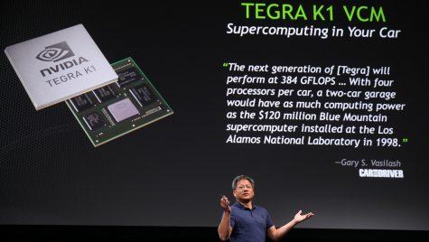 NVIDIA lansează un procesor revoluționar care deschide calea automobilele autonome