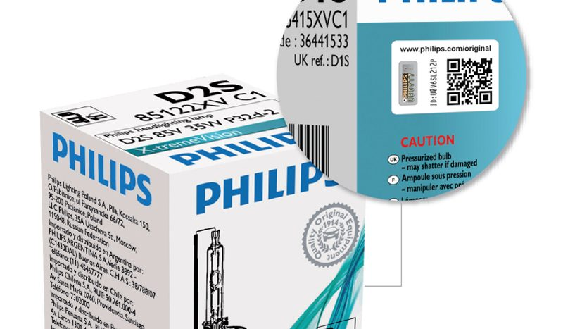 Philips este prima companie care creează o soluţie inovatoare, proactivă împotriva pirateriei cu soluţii de iluminat cu xenon, aflată în creştere.