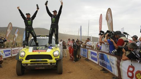 "Joan ""Nani"" Roma şi MINI au câştigat Raliul Dakar 2014"