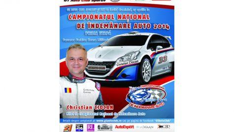 Debut pentru Campionatul Național de Îndemânare auto 2014