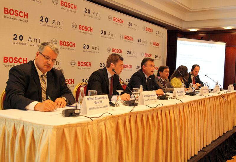 Bosch îşi consolidează poziția în România