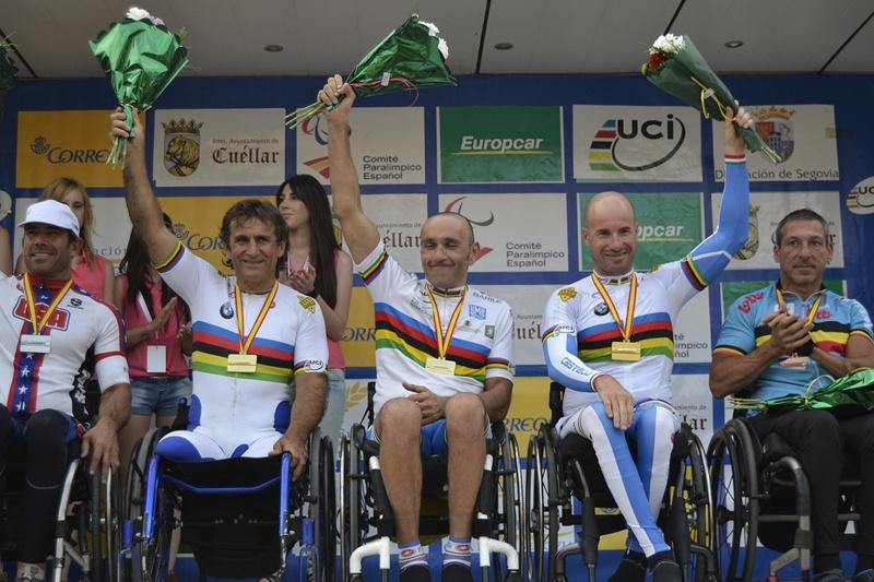 Alessandro Zanardi a câştigat ultima etapă a sezonului din Cupa Mondială de Paraciclism