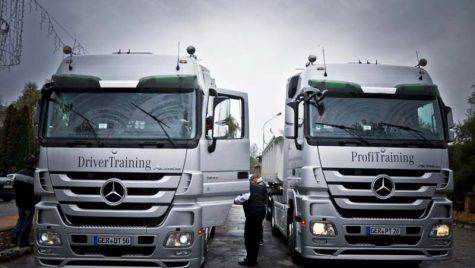Mercedes-Benz şi U.N.T.R.R. instruiesc şoferii