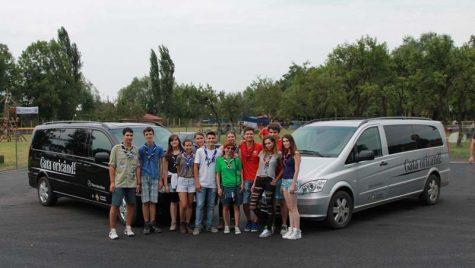 Mercedes-Benz, Maşina Oficială a Festivalului de Campuri Cercetășești