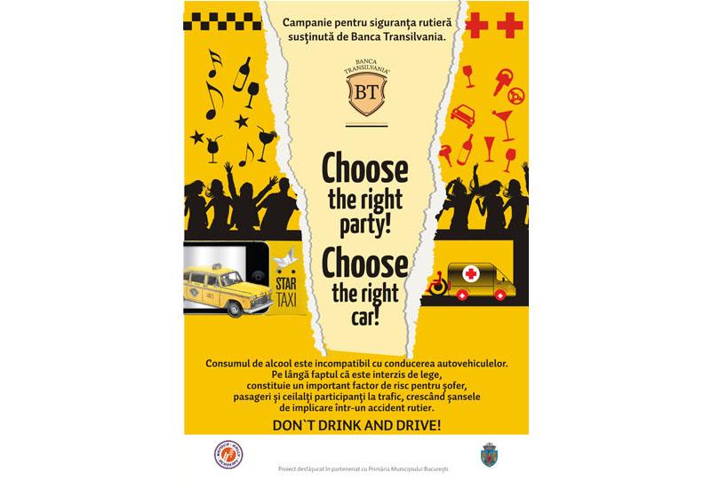 Napoca Rally Academy continuă campania de siguranță rutieră pe Strada BT, în Centrul Vechi