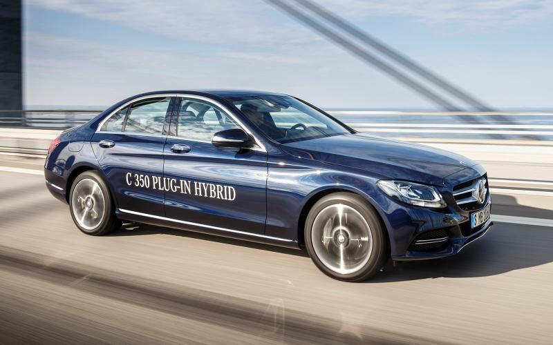 Mercedes-Benz C 350 Plug-in Hybrid, prezentat oficial la Detroit