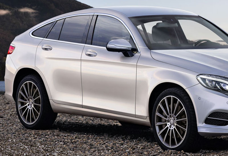 Primele fotografii cu Mercedes-Benz GLC şi GLC Coupe