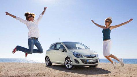 Noul exterior al Opel Corsa
