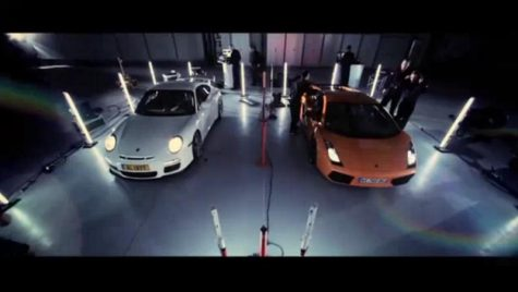 VIDEO: Porsche 911 GT3 vs. Lamborghini Gallardo Superleggera