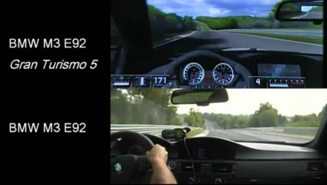 VIDEO: Real vs. Virtual pe Nurburgring