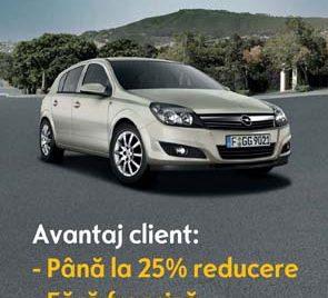 Generali a realizat un produs special CASCO pentru Opel