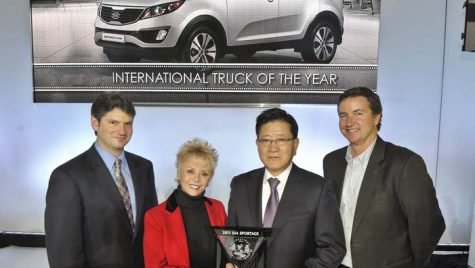 Kia Sportage – 'International Truck of the Year'