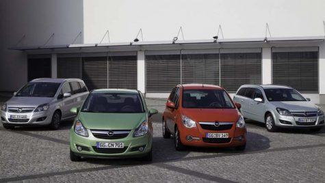 Creştere a cotei de piaţă în 2010 pentru Opel